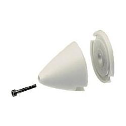 Cono Blanco de Plástico de 40mm