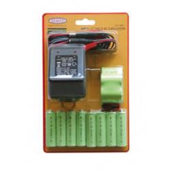 Baterías Emisora-Receptor y Cargador