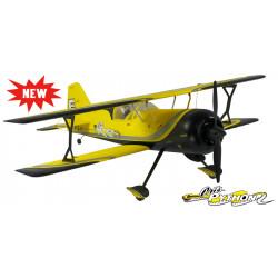 Avión RC Pitts Model 12 Amarillo PNP
