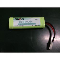 Batería RC 7.2vol 3000mAh NiMh