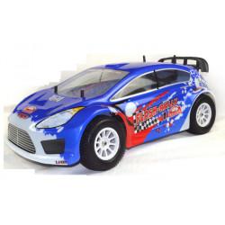 Coche RC XRL-N2 Rally Nitro 4WD 2VEL. GO18 Azul