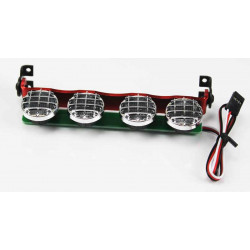 SET DE LUCES LEDS SUPERIORES SOPORTE METALICO