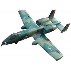 Avión RC A-10 Thunderbolt PNP Camuflaje Dynam