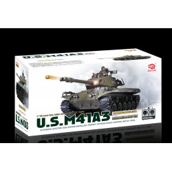 Tanque M41 A3 Walker Bulldog RC escala 1/16