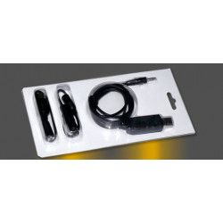 CABLE SIMULADOR USB C/ CONECTORES FUTABA HITEC ETC