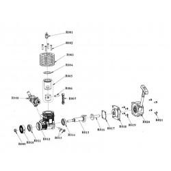 Cigueñal motor Vertex 18cxp