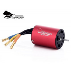MOTOR BRUSHLESS LEOPAD 4P 3650 1300W 2750KV EJE3.1MM