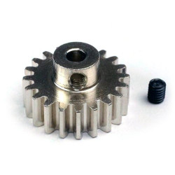 PIÑON MOTOR 32 PITCH 18T ALU7075 EJE 3.17MM