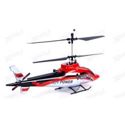 FUSELAJE HELICOPTERO VORTEX 370V2 COAXIAL ROJA (HELICÓPTERO NO INCLUIDO)