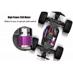 WLTOYS 12402 COCHE RC BIG FOOT 4X4 1/12 C/MOTOR540+LIPO 45KM/H