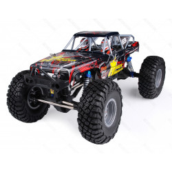 COCHE RC ROCK HAMMER PRO BRUSHLESS+LIPO+60A RTR ROJO