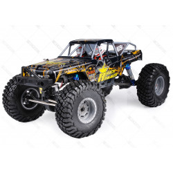 COCHE RC ROCK HAMMER PRO HSP BRUSHLESS+LIPO+60A RTR AMAMARILLO