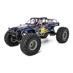 COCHE RC ROCK HAMMER PRO HSP BRUSHLESS+LIPO+60A RTR AZUL