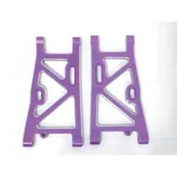 Trapecios traseros aluminio Bazooka 1/8 HSP