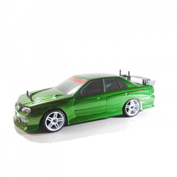 COCHE RC XEME BRUSHLESS+11.1LIPO+100A ESC CON LUCES LED (VERDE)