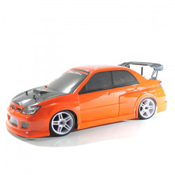 COCHE RC XEME BRUSHLESS+11.1LIPO+100A ESC CON LUCES LED (NARANJA)