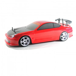 COCHE RC XEME BRUSHLESS+11.1LIPO+100A ESC CON LUCES LED (ROJO)