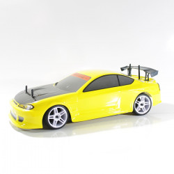 COCHE RC XEME BRUSHLESS+11.1LIPO+100A ESC CON LUCES LED (AMARILLO)