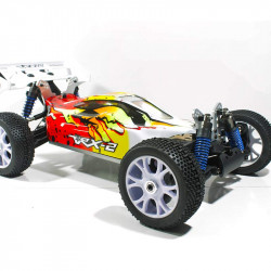 COCHE RC VRX-2E BRUSHLESS 1/8 + ESC120A+LIPO 14.8V NEW2
