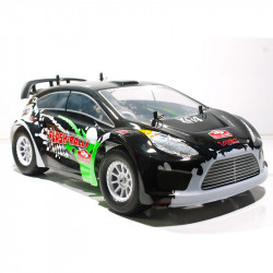 Coche RC XRL-N2 Rally Nitro 4WD 2VEL. FORCE 18 NEGRO-BLANCO