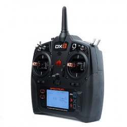 EMISORA RC SPEKTRUM DX8G2 + RECEPTOR AR8000 6 CANALES 2.4GH