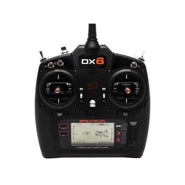 EMISORA RC SPEKTRUM DX6G3 + RECEPTOR AR610 6 CANALES EN 2,4GHZ