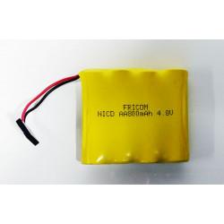 Batería Recargable de 4 8vol 800mAh NICD-AA