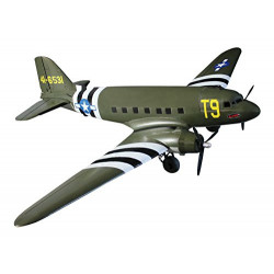 Dynam-RC - Avión RC C-47 Skytrain Eléctrico PNP - DY8931-GR