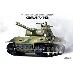 Heng Long - Tanque Panther Aleman Radio Control - HNL3819-1