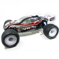 COCHE BRUSHLESS VRX-1E TRUGGY 1/8 MOTOR 3674 ESC 120 AMPERIOS + 14,8V LIPO RTR NEGRO