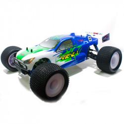 COCHE BRUSHLESS VRX-1E TRUGGY 1/8 MOTOR 3674 ESC 120 AMPERIOS + 14,8V LIPO RTR BLANCO