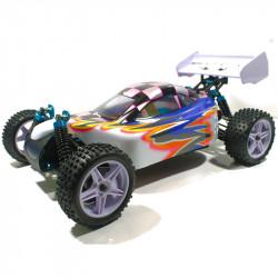 Coche XSTR HSP Buggy 1:10 2,4Ghz Blanco y Azul