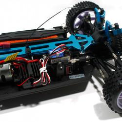 Coche XSTR HSP Buggy 1:10 2,4Ghz Rojo y Negro