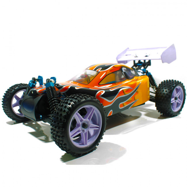 Coche RC XSTR Pro HSP 1/10 Brushless Lipo 2,4Ghz 4WD