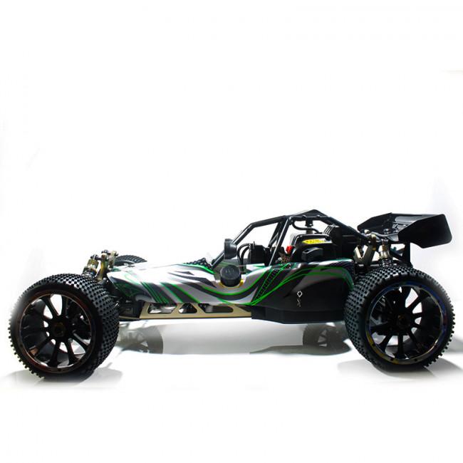 Coche RC Bajer 1/5 4WD HSP 32C.C. R.T.R.Verde