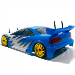 Sonic HSP Coche Touring Combo (2,4Ghz) 1/10 Blanco y Azul