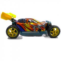 Warhead (Atomic) HSP Buggy 1/10 4wd (2,4GHZ) Plateado y Amarillo