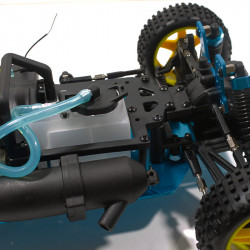 Warhead (Atomic) HSP Buggy 1/10 4wd (2,4GHZ) Blanco y Lila