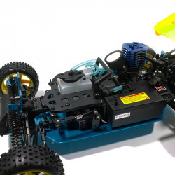 Warhead (Atomic) HSP Buggy 1/10 4wd (2,4GHZ) Blanco y Negro