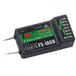 RECEPTOR RADIO CONTROL FLYSKY iA6B 6 CANALES CON PUERTO IBUS