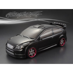 CARROCERÍA FORD FOCUS TOURING 1/10 PINTADA CARBONO