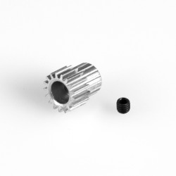 PIÑÓN MOTOR 16T METAL EJE 3.17MM LC RACING L6206