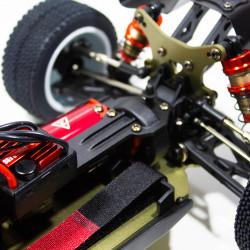 COCHE BRUSHLESS BUGGY 1/14 LC RACING EMB-1H RTR LIPO VERSION (7,4V) BLANCO NEGRO