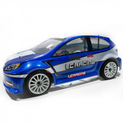 COCHE BRUSHLESS RALLY 1/14 LC RACING EMB-WRCH RTR LIPO VERSION (7,4V) AZUL