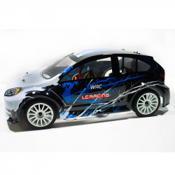 COCHE RADIO CONTROL RALLY 1/14 EMB-WRCL LC RACING RTR C/ESCOBILLAS LIPO VERSION (7,4V) NEGRO