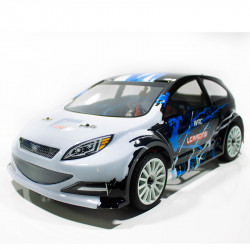 COCHE RC RALLY ESCALA 1/14 EMB-WRCL LC RACING RTR C/ESCOBILLAS LIPO VERSION (7,4V) NEGRO