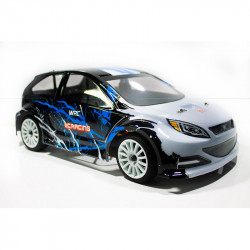 COCHE RC RALLY 1/14 EMB-WRCL LC RACING RTR C/ESCOBILLAS LIPO VERSION (7,4V) NEGRO