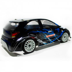 COCHE RC RALLY 1/14 EMB-WRCL LC RACING RTR C/ESCOBILLAS LIPO VERSION (7,4V) NEGRO 5