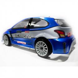 COCHE RALLY 1/14 EMB-WRCL LC RACING RTR C/ESCOBILLAS LIPO VERSION (7,4V) AZUL