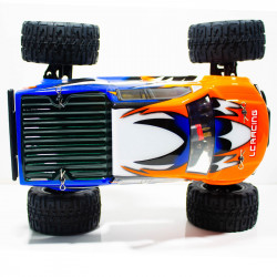 COCHE BIG FOOT 1/14 EMB-MTL LC RACING RTR C/ESCOBILLAS LIPO VERSION (7,4V)